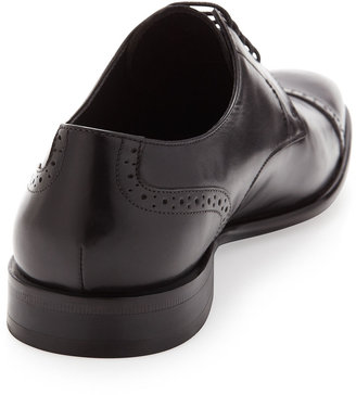 HUGO BOSS Metost Perforated Oxford, Black