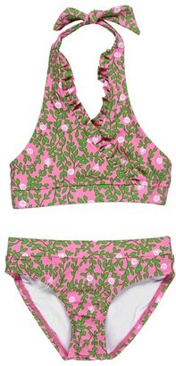 Lilly Pulitzer Sand Bar Bikini (Toddler/Little Kids/Big Kids) (Pulitzer Pink) - Apparel