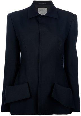 Yohji Yamamoto button fastening jacket