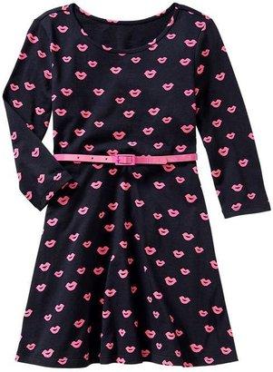 Gap Belted print dress
