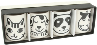 Kotobuki Trading Co. Animal Cup Set Of 4