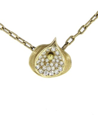 Ten Thousand Things diamond rosette necklace