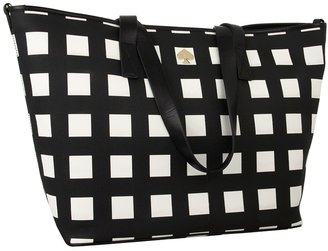 Kate Spade Checker Place Harmony Baby Bag (Black/Clotted Cream) - Bags and Luggage