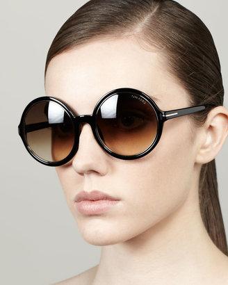 Tom Ford Carrie Oversized Sunglasses