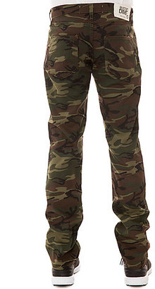 Camo Rustic Dime The Slim Twill Pants in