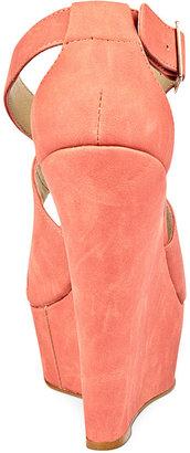 Steve Madden Women's Shoes, External Wedge Sandals