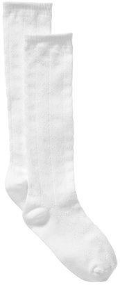 Gap Uniform pointelle knee high socks