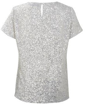 French Connection Mini Sequins Top