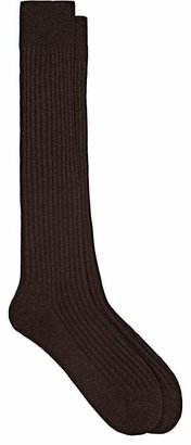 Barneys New York Men's Rib-Knit Over-The-Calf Socks $34 thestylecure.com