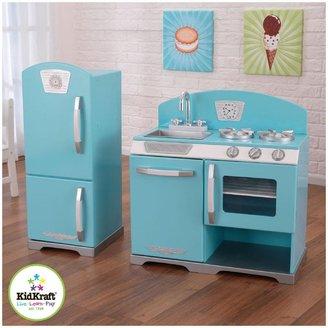 Kid Kraft Blue Retro Kitchen & Refrigerator