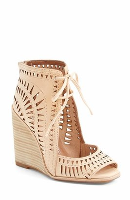 Women's Jeffrey Campbell 'Rodillo-Hi' Wedge Sandal $144.95 thestylecure.com