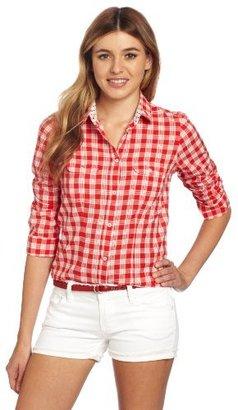 U.S. Polo Assn. Juniors Woven Plaid Shirt