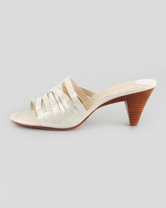 Donald J Pliner Callie Slide Sandal, Silver