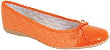 French Sole PassportR - Ballet Flat in Orange