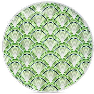 Jonathan Adler Dinnerware, Set of 4 Scales Melamine Dinner Plates