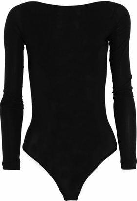 Kiki de Montparnasse Backless stretch-jersey bodysuit