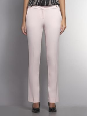 New York & Co. The 7th Avenue City Double Stretch Pant with Goldtone Link Detail - Cherry Blossom