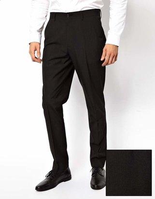 Asos Slim Fit Suit Pants in Black
