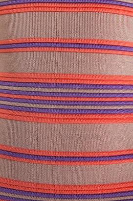 Torn By Ronny Kobo Malena Ottoman Stripes Dress