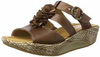 Gabor Mojo 46.932.53 Clogs Leather for women brown Size: 7