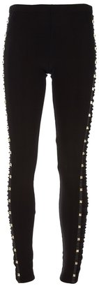 ALICE by Temperley Gold Studded Legging
