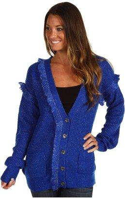 Winter Kate Sweater Knit (Cobalt) - Apparel