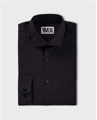 Express Slim Fit Spread Collar 1mx Shirt
