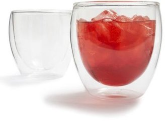 Bodum Pavina Double-Walled Insulated Glassware, Set of 2