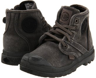 Palladium Pallabrouse (Infant/Toddler) (Metal/Black) - Footwear