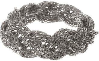 Charlotte Russe Braided Chain Bracelet