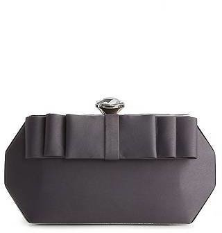 Townsend Lulu Bow Front Minaudiere Clutch