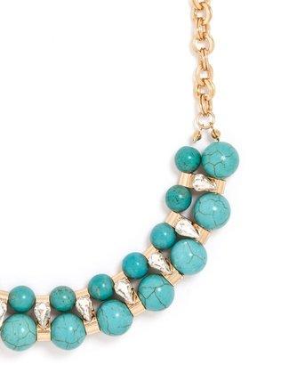 BaubleBar Turquoise Oaxaca Collar
