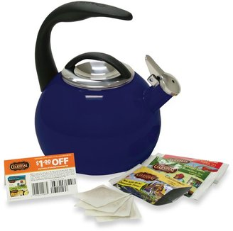 Chantal Anniversary 2-Quart Tea Kettle in Cobalt Blue