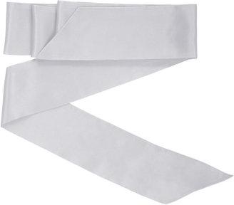 BCBGMAXAZRIA Silk Sash Waist Belt