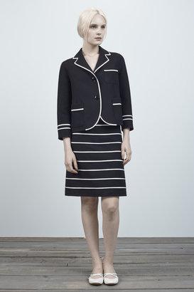 Marc Jacobs Doubleface Wool A-line Skirt
