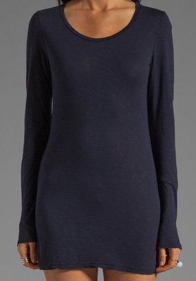 Velvet by Graham & Spencer Theana Luxe Slub Dress