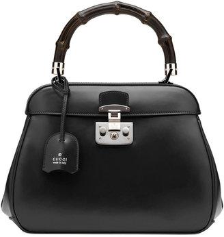 Gucci Bamboo-Handle Lady-Lock Bag