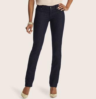 LOFT Tall Curvy Straight Leg Jeans In Rinse Wash