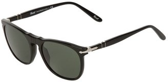 Persol flat top round framed sunglasses