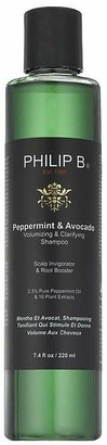 Philip B Peppermint And Avocado Clarifying Shampoo $28 thestylecure.com
