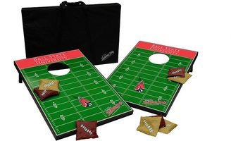 Tailgate Ball state cardinals toss beanbag game