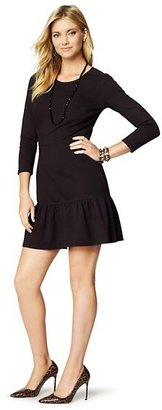 Juicy Couture Ponte Ruffled Dress