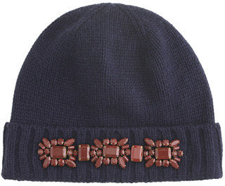 J.Crew Jeweled hat