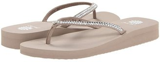 Yellow Box Jello (White) Women's Sandals