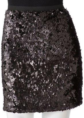 JLO by Jennifer Lopez sequin miniskirt
