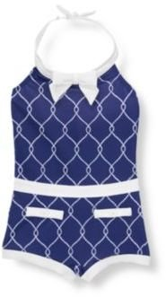 Janie and Jack Rope Print Swimsuit