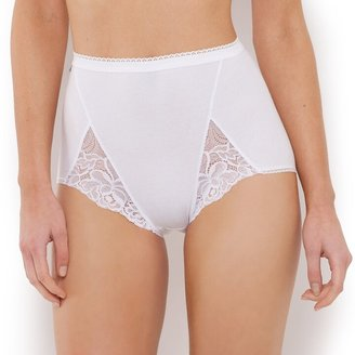 Playtex Pack of 2 Cotton and Lace Maxi Knickers
