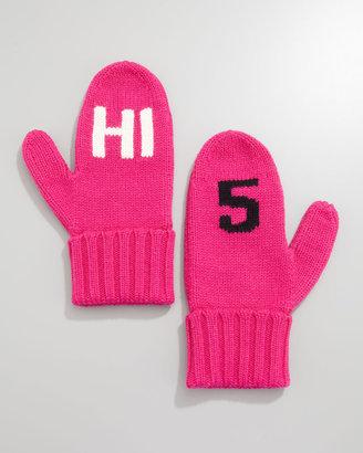 """Kate Spade HI 5"""" mittens"""