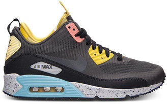 Nike Men's Air Max 90 Mid No Sew Running Sneakers from Finish Line