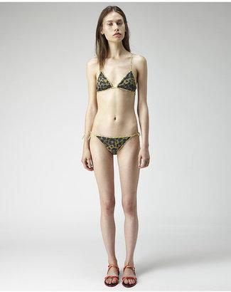 Kenzo reversible leopard bikini